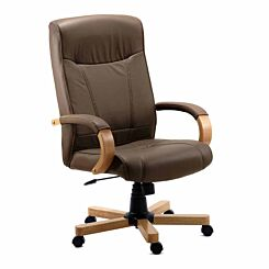 Teknik Office Richmond Bonded Leather Executive Chair