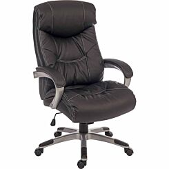 Teknik Office Siesta Leather Look Executive Chair
