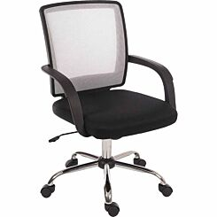 Teknik Office Star Mesh Backed Chair White