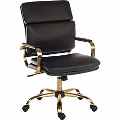 Teknik Office Vintage Executive Leather Look Chair