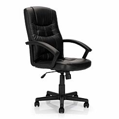 Darwin Leather Effect Manager Chair