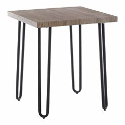 Interiors by PH Side Table with Hairpin Legs