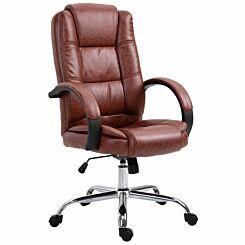 Anglezarke Executive Ergonomic Office Chair Brown