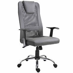 Arnfield Ergonomic Mesh Swivel Office Chair Grey