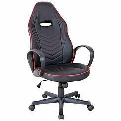 Barrow Sleek Executive Office Chair Red