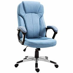 Brookvale Padded Linen Executive Office Chair