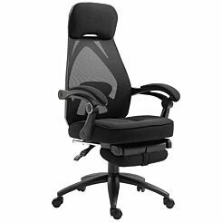 Esthwaite Mesh Recliner Chair with Footrest