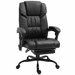 Harlock 6-Point PU Leather Massage Office Chair