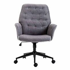Juliet Executive Tufted Computer Chair with Armrests