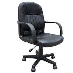 Loughty PU Leather Home Office Chair