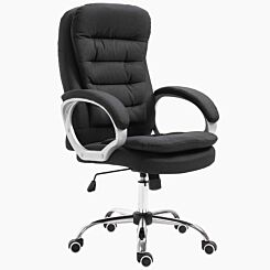 Rose Executive Chair with Lumbar Support Black
