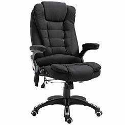 Rowan Heating Massage Executive Chair Black