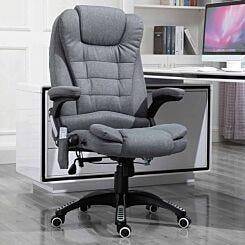 Rowan Heating Massage Executive Chair Grey