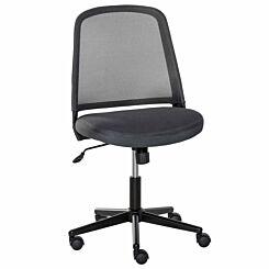 Sianna Mesh Mid Back Office Chair Grey