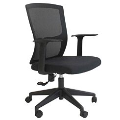Fontaine Office Chair with Fabric Seat and Mesh Backrest