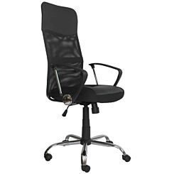 Pasteur Office Chair with Fabric and PU Seat