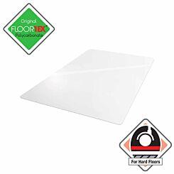 Cleartex Ultimat Polycarbonate Rectangular Chair Mat for Hard Floors 119 x 75cm