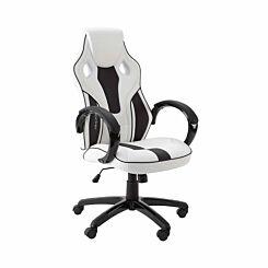 X Rocker Maverick Office Computer Gaming Chair White/Black