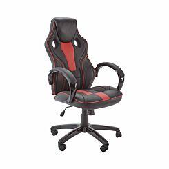 X Rocker Maverick Office Computer Gaming Chair Black/Red