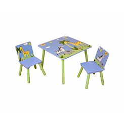 Liberty House Toys Table and 2 Chair Set Savannah