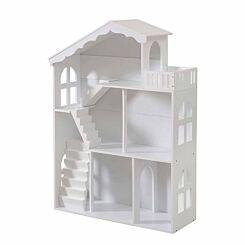 Liberty House Toys Dollhouse Bookshelf with Balcony