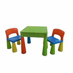 Liberty House Toys Kids Multifunctional Table and Chair Green
