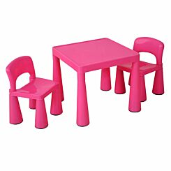 Liberty House Toys Classic Table and Chair Set Pink