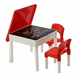 Liberty House Toys Childrens 6 in 1 Play Activity Table and Chairs
