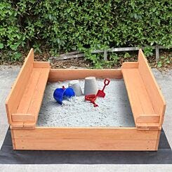 Liberty House Toys Sand Pit with Seating and Cover
