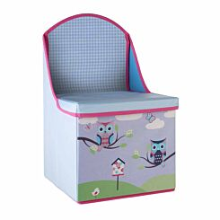 Premier Kids Owl Storage Box Seat