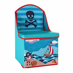 Premier Kids Pirate Storage Box Seat