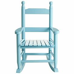 Premier Kids Hardwood Rocking Chair Blue