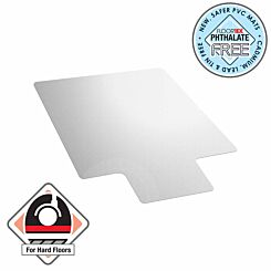 Cleartex Advantagemat Chair Mat for Low Pile Carpet Rectangular with Lip 115 x 134cm