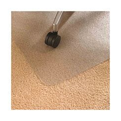 Floortex Cleartex Ultimat Chair Mat for Low to Medium Mile Carpets Polycarbonate 120 x 150cm