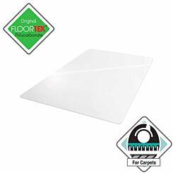 Floortex Polycarbonate Chair Mat for Deep Pile Carpets 89cm x 119cm