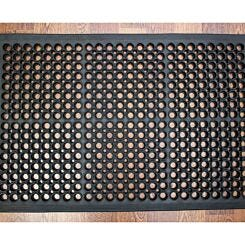 Doortex Open-Top Anti-Fatigue Mat 80 x 120cm Black