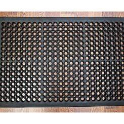 Doortex Open-Top Anti-Fatigue Mat 80 x 120cm Black