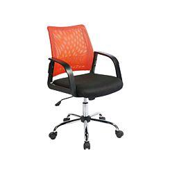 Mesh Back Operator Chair Orange