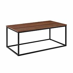 Atri Mixed Material Coffee Table