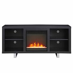 Valentia Modern Electric Fireplace TV Stand