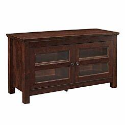 Carpi Wooden TV Stand Dark Brown