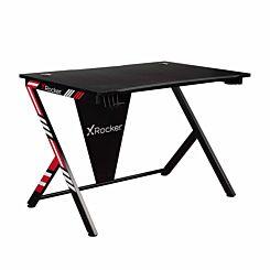 X Rocker Ocelot Gaming Desk Red