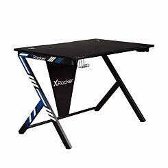 X Rocker Ocelot Gaming Desk Blue