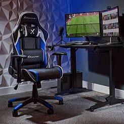 X Rocker Agility Junior Gaming Chair Blue