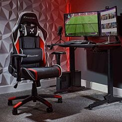 X Rocker Agility Junior Gaming Chair Red