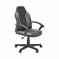 X Rocker Saturn Mid-Back Gaming Chair Green