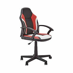 X Rocker Saturn Mid-Back Gaming Chair Red