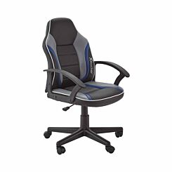 X Rocker Saturn Mid-Back Gaming Chair Blue