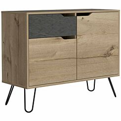 Manhattan Small Sideboard with 2 Doors and 1 Drawer
