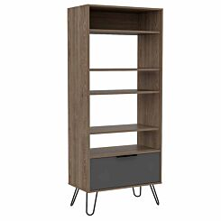 Vegas Display Bookcase with Door